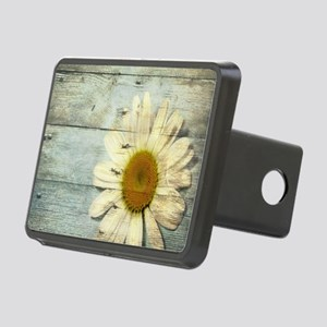 shabby chic country daisy Rectangular Hitch Cover