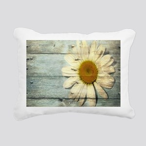shabby chic country dais Rectangular Canvas Pillow