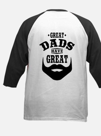 Bearded Dad Kids Baseball Jersey