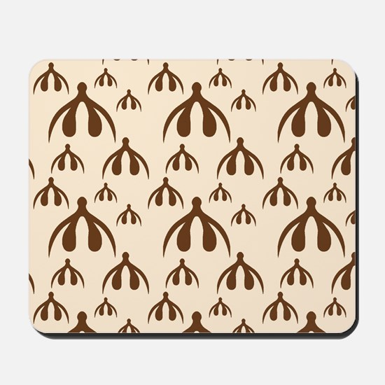 Brown Clits on Tan Mousepad