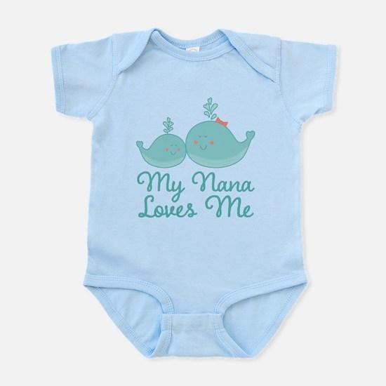 My Nana Loves Me Infant Bodysuit