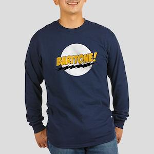 Baritone! Long Sleeve Dark T-Shirt