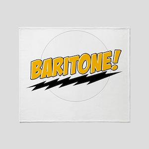 Baritone! Throw Blanket