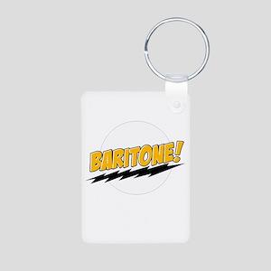 Baritone! Aluminum Photo Keychain