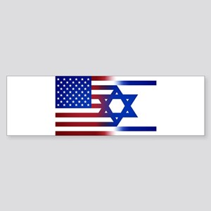 America stands with Israel Bumper Sticker