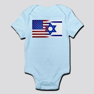 America stands with Israel Body Suit