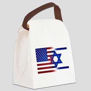 America stands with Israel Canvas Lunch Bag