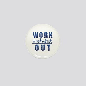 Work out Mini Button