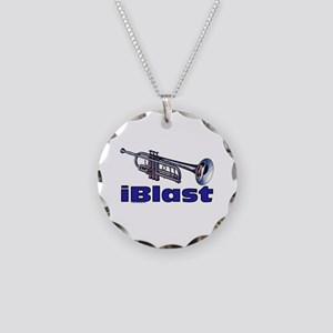 iBlast Necklace Circle Charm