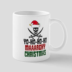 Pirate Christmas 11 oz Ceramic Mug