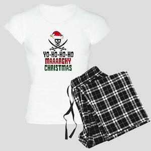 Pirate Christmas Women's Light Pajamas