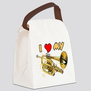 I Love My Cornet Canvas Lunch Bag