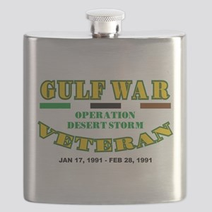 GULF WAR VETERAN OPERATION DESERT STORM Flask