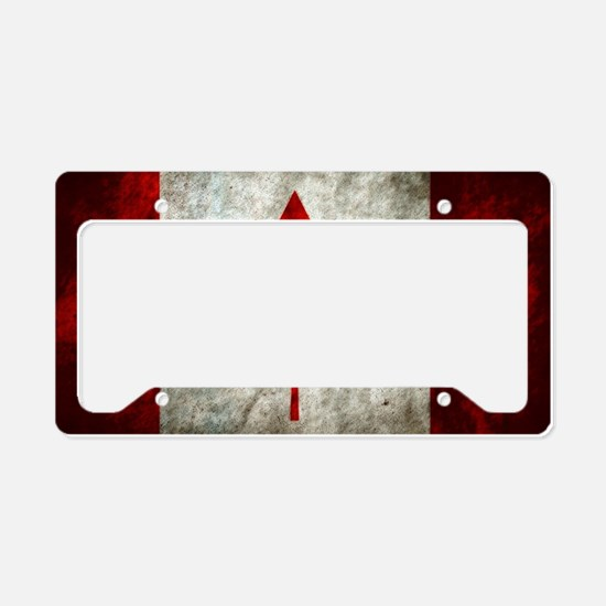 Cute Canadian License Plate Holder
