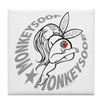Monkeysoop Faery Tile Coaster