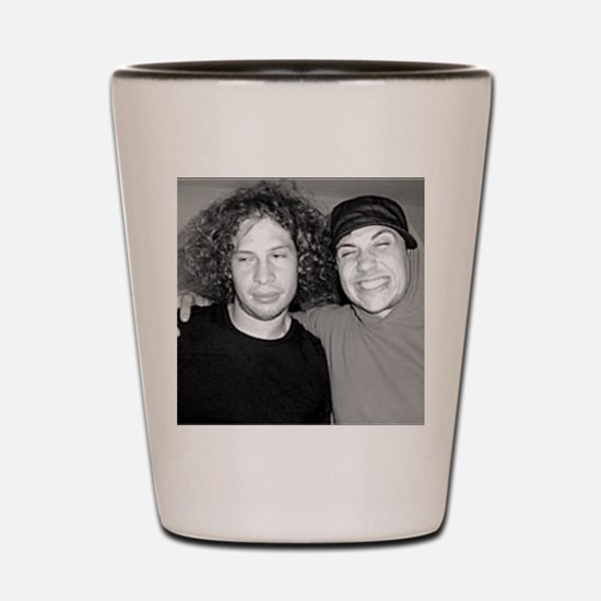 Frank Iero and Ray Toro Shot Glass