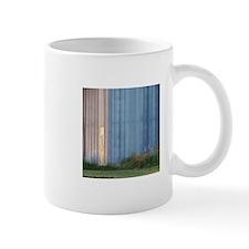 Metallic Rural Landscape Mug