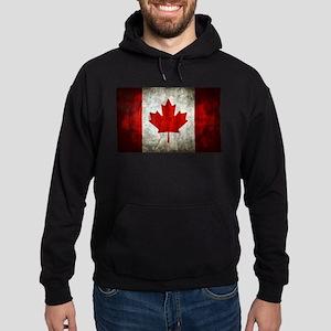 Canadian Flag Hoodie (dark)