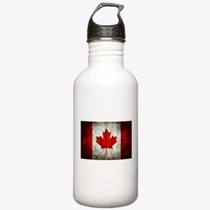 Canadian Flag Stainless Water Bottle 1.0L