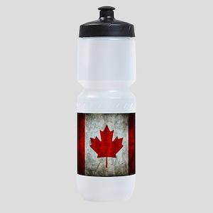 Canadian Flag Sports Bottle