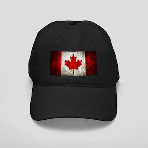 Canadian Flag Black Cap