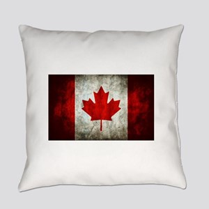 Canadian Flag Everyday Pillow