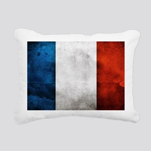 France Rectangular Canvas Pillow