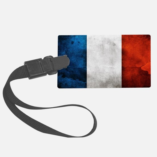 France Luggage Tag