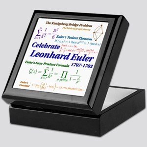 Celebrate Euler More Keepsake Box