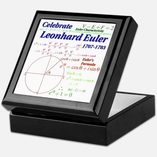 Celebrate Euler Keepsake Box