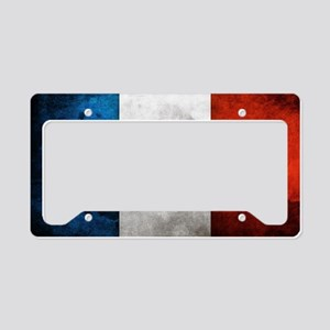 France License Plate Holder