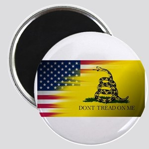 American Flag/Don't tread on Me Magnets