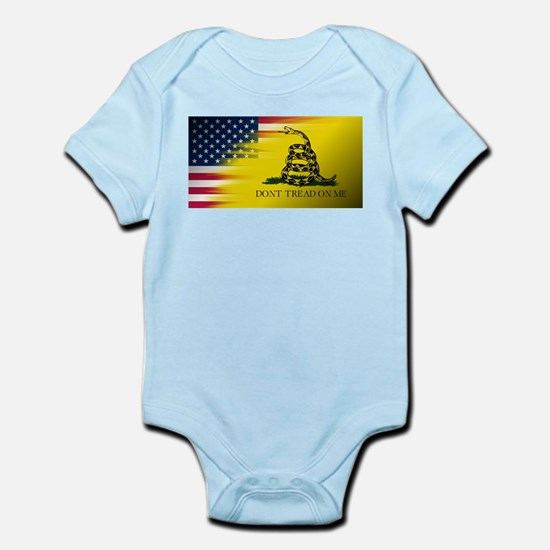 American Flag/Don't tread on Me Body Suit