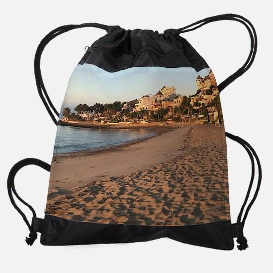 Cute Mexico beach Drawstring Bag