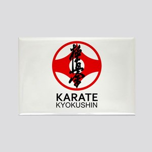 Kyokushin Karate Symbol and Kanji Magnets