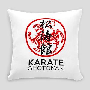 Shotokan Karate symbol and Kanji Everyday Pillow