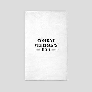 Combat Vet's Dad Area Rug