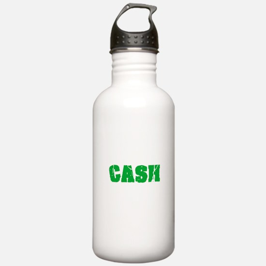 Cash Name Weathered Gr Sports Water Bottle