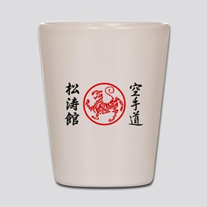 Shotokan Karate Symbol Shot Glass