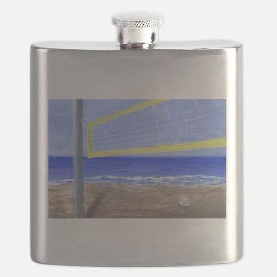 Beach Volleyball Flask