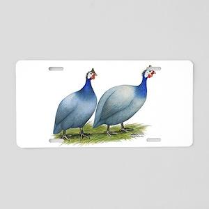 Guineas Slate Pair Aluminum License Plate