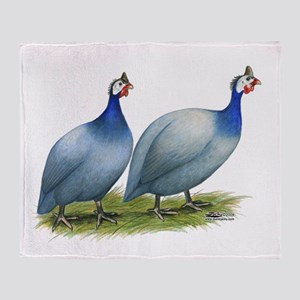 Guineas Slate Pair Throw Blanket