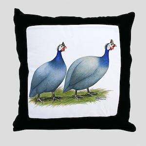 Guineas Slate Pair Throw Pillow
