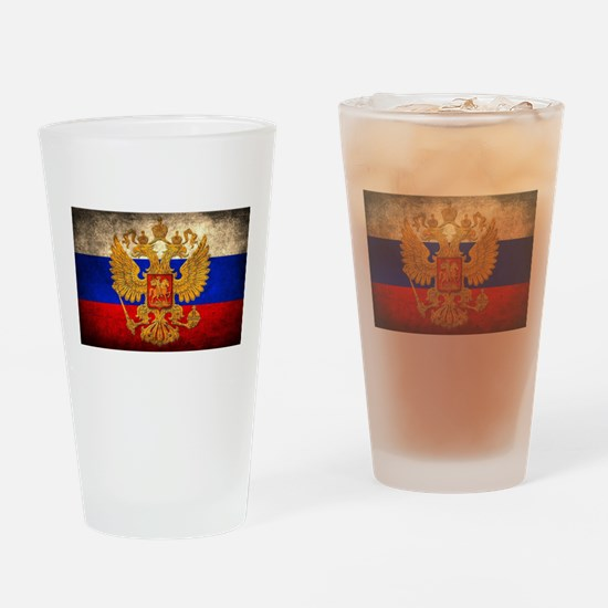 Russia Drinking Glass