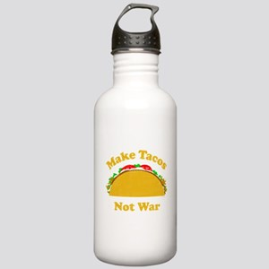 Make Tacos Not War Stainless Water Bottle 1.0L