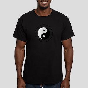 Respect Honor Integrit Men's Fitted T-Shirt (dark)