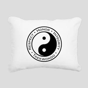 Respect Honor Integrity Rectangular Canvas Pillow