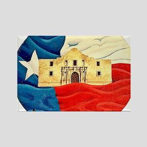 Texas Pride Rectangle Magnet