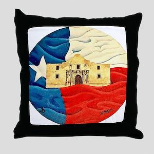 Texas Pride Throw Pillow