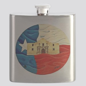 Texas Pride Flask